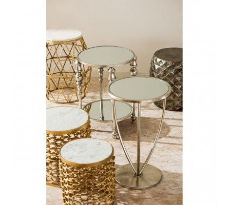 Templar Gold Side Table
