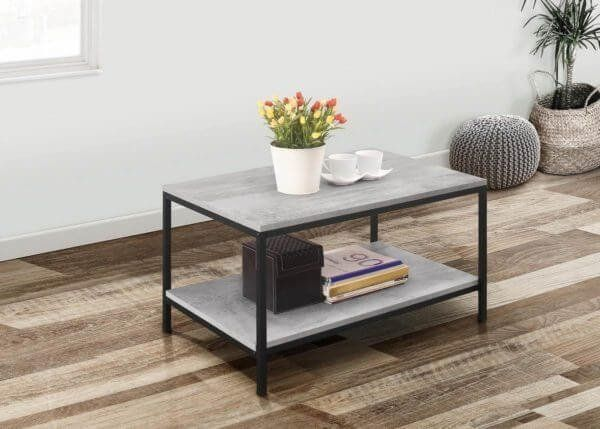 Townville Concrete Effect Coffee Table