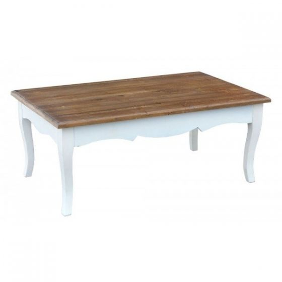 Transylvania White Large Coffee Table