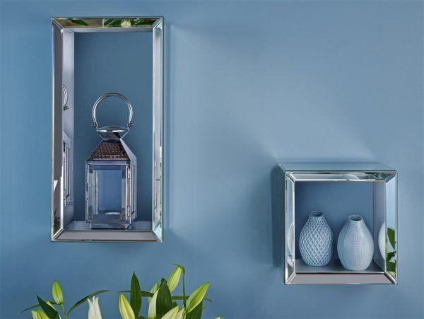 Turia Mirrored Floating Shelf