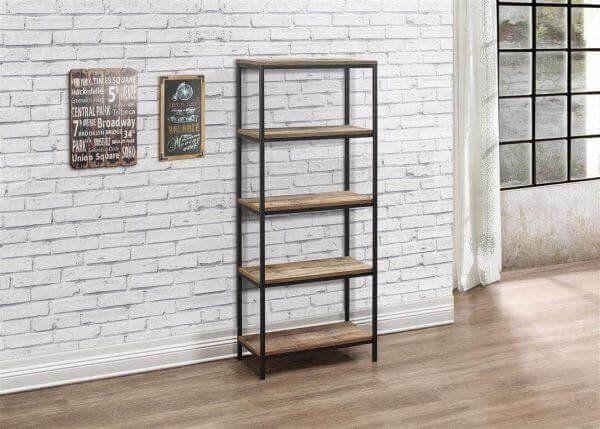 Urban 5 Tier Bookcase