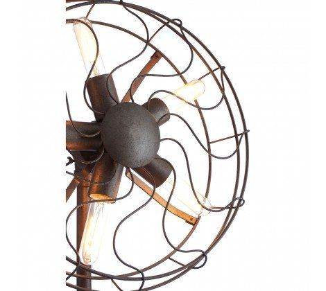 Vintage Fan Shape Wall Light