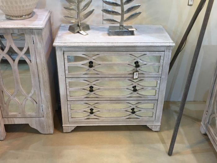 Washed Ash 3 Drawer Chest of Drawers