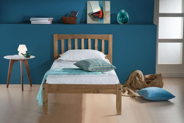 Boavista Waxed Pine Single & Double Bed Frames