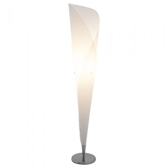 White Tube/Cylinder Floor Lamp