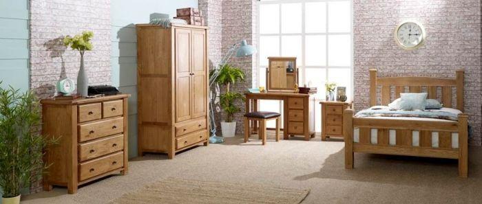 Oxfordshire Oak Triple Wardrobe