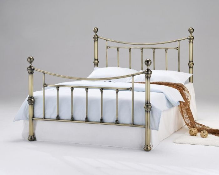 Yasmine Antique Brass Bed Frame