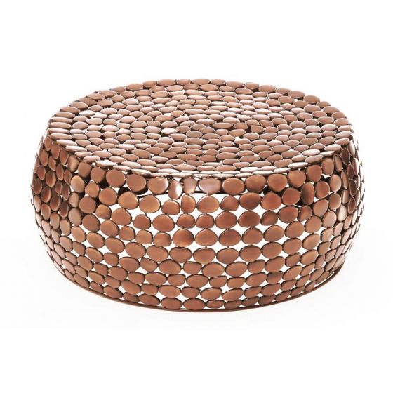 Copper Pebble Coffee Table