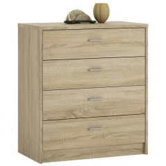 4 You 4 Drawer Chest In Sonama Oak