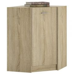 4 You Corner Cupboard In Sonama Oak