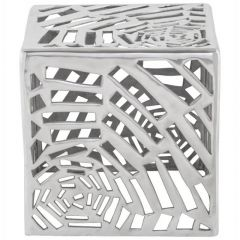 Aluminium Cut Out Design Small Table