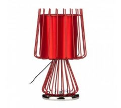 Aria Red Table Lamp