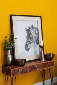 Aura Bronze Tapered Vase