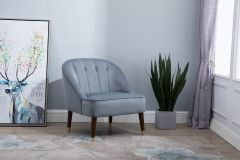 Aurelia Chair in Green, Grey or Mustard