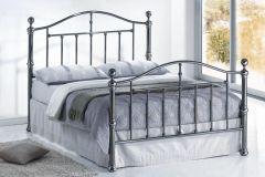 Victoria Nickel Bed Frames
