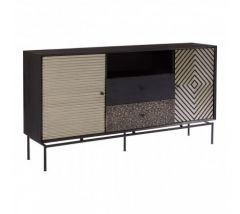 Bovo Mango Wood 2 Door 2 Drawer Sideboard
