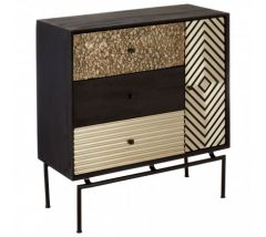 Bovo Mango Wood 3 Drawer Cabinet