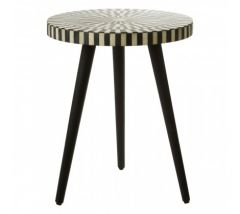 Bovo Sheesham Wood Round Side Table