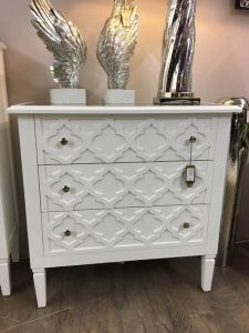 Casablanca White Chest of Drawers