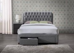 Valentine Fabric Bed Frames with Drawers