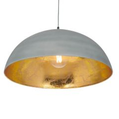 Concrete Grey Effect Pendant