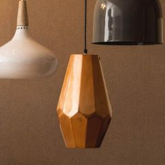 Retro Large Copper Finish Pendant Light