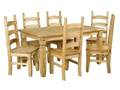 Corona 6 Foot Dining Set