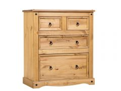 Corona Standard 2 Over 2 Chest of Drawers