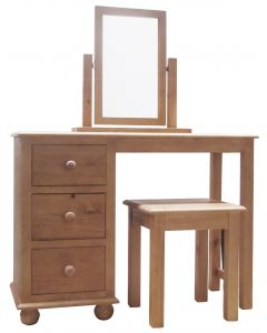 Cottage Pine Dressing Table Set