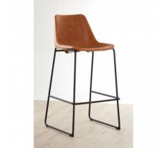 Dalston Industrial Camel Bar Stool