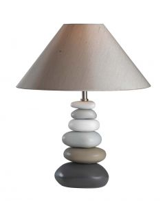 Drift Table Lamp Grey Tonal
