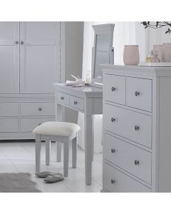 Edelmar Pine Grey Stool