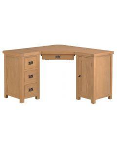 Eden Oak Corner Computer Desk