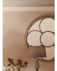 Floral Grey Wall Mirror