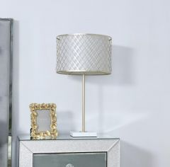 Gold Metal & Marble Table Lamp