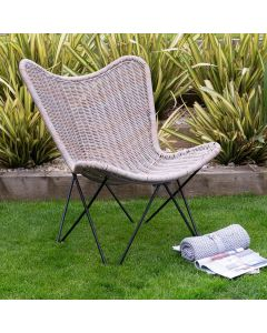Grayling Outdoor Rattan Effect Chair