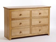 Hamilton 3+3 Drawer Wide Chest