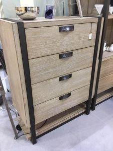 Hudson Natural Wood Tallboy Chest