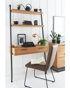 Iestyn Office Desk with Shelves