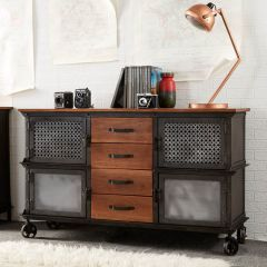 Industrial Eco Friendly Large Sideboard
