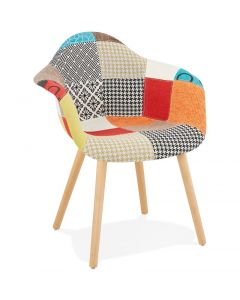 Isabelle Patchwork Armchair