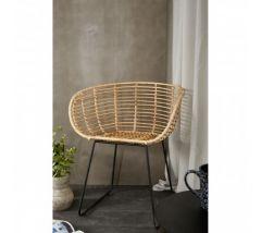Java Natural Rattan Decor Tiger Chair
