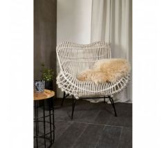 Java Natural Rattan Occasional Chair