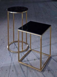 Kensal Slimline Square Side Tables
