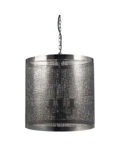 Loom Antique Black Mesh 3 Light Pendant