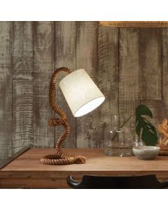 Martindale Rope and Jute Task Table Lamp