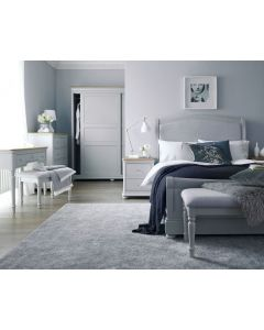 Mendes Soft Grey Bed Frame