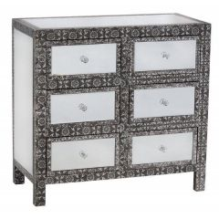 Mirrored Chaandhi Kar Chest of Drawers
