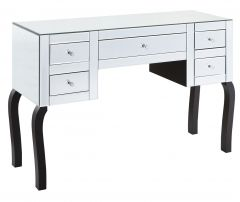 Mirrored Multi-Drawer Dressing Table