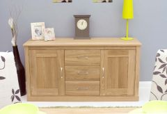 Modern Light Oak Large Sideboard